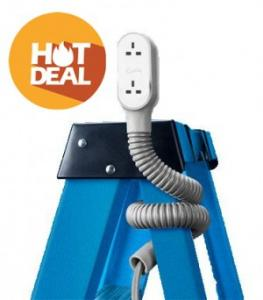 Quirky Prop Power Pro Wrap Around 9-Foot Extension Cord