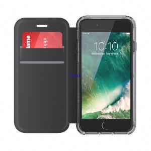 Griffin Survivor Clear Wallet for iPhone 7(Black/Clear)