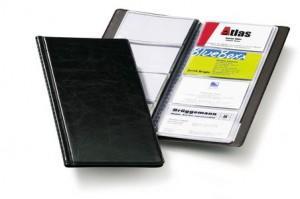 Durable- Business Card Holder - Holds 96 cards Black