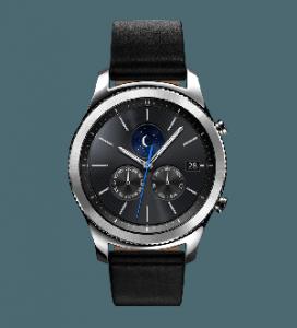 Samsung Gear S3 Classic Smartwatch-Black