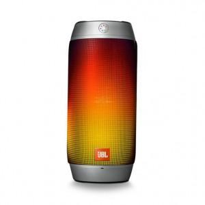 JBL Splashproof Bluetooth Speaker with Light Show PULSE2  Silver