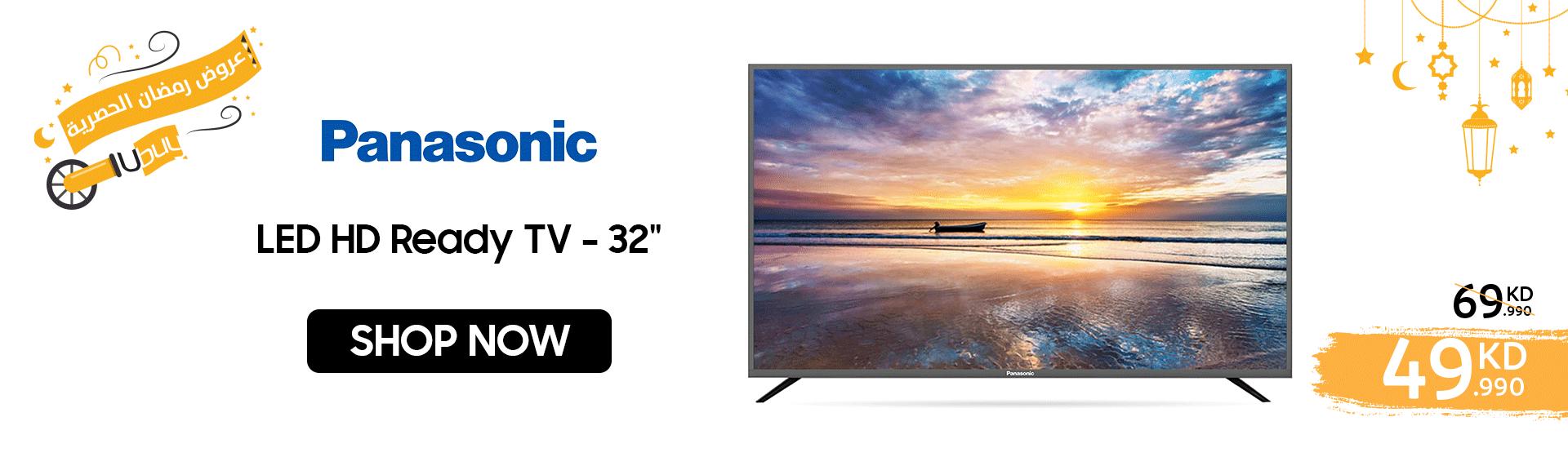 Panasonic - LED HD Ready TV