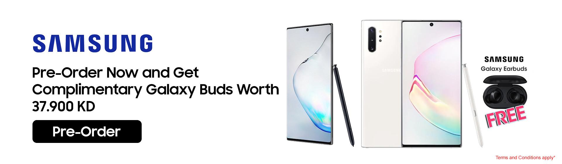 Samsung Note 10 - PreOrder