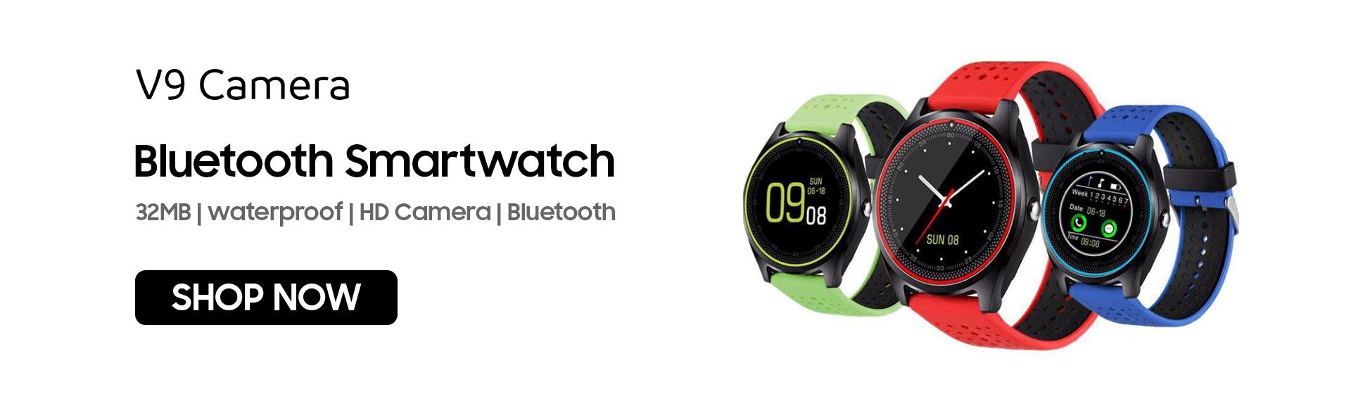 V9 Camera Bluetooth Smartwatch