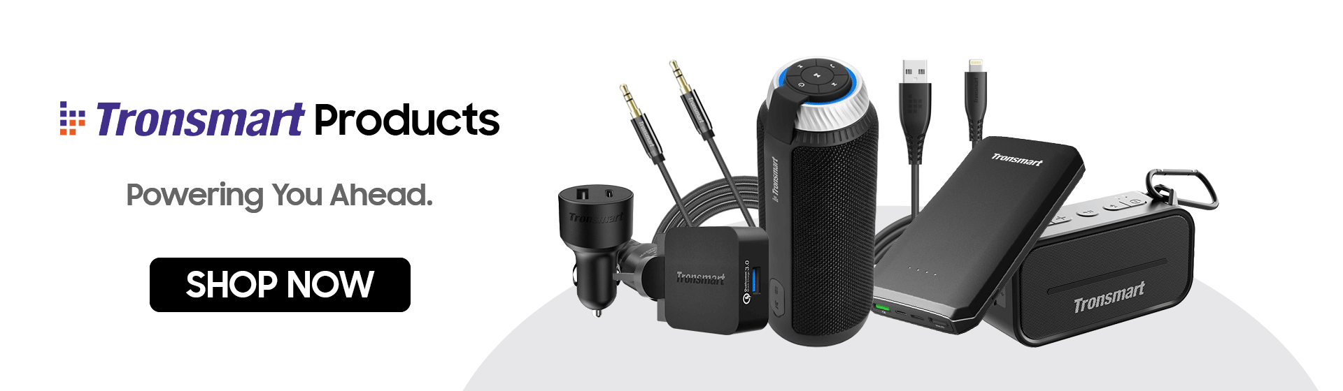 Tronsmart Products | Charging Cables | Car Chargers | Speakers