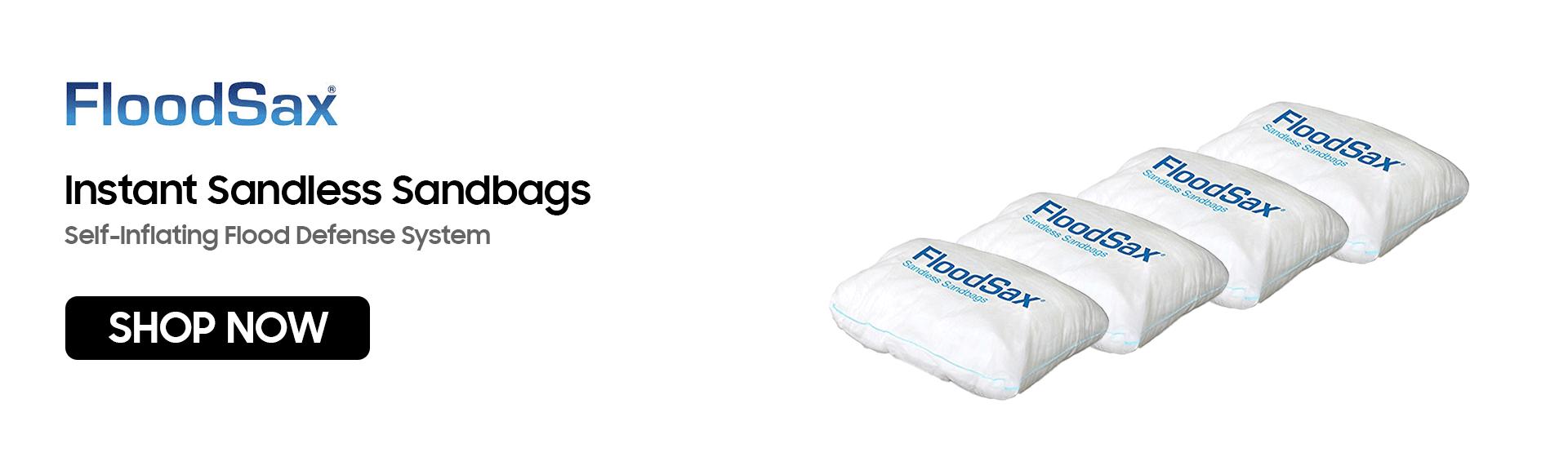 FloodSax | Instant Sandless Sandbags